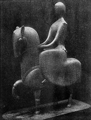 Chana Orloff - Chana Orloff, 1915, Amazone, bronze, 73.5 cm