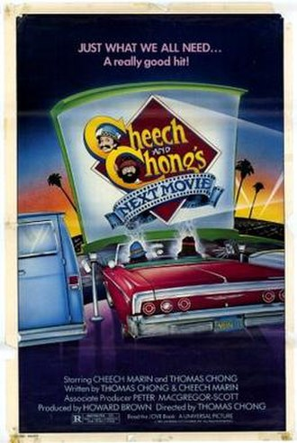 Cheech and Chong's Next Movie - Theatrical release poster