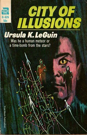 City of Illusions - Cover of first edition (paperback)