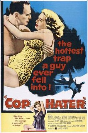 Cop Hater (film) - Theatrical poster