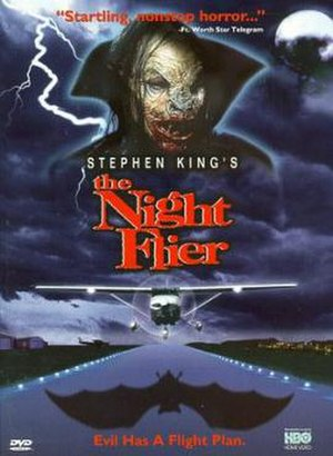 The Night Flier (film) - DVD cover