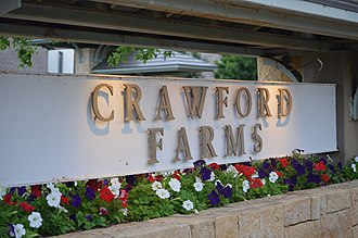 Crawford Farms, Fort Worth, Texas - Image: Crawford Farms Main Entrance