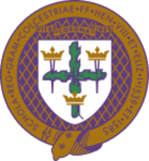 Colchester Royal Grammar School - Image: Crgs logo