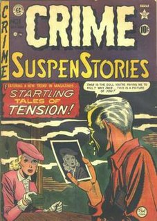 <i>Crime SuspenStories</i> Anthology crime comic