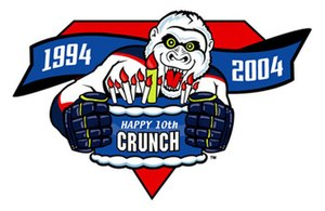 Syracuse Crunch - Image: Crunch 10th Anniversary