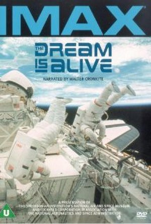 The Dream Is Alive - DVD cover