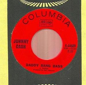 Daddy Sang Bass - Image: Daddysang