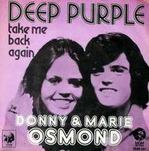 Deep Purple (song) - Image: Deep Purple Donny & Marie Osmond