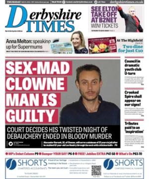 Derbyshire Times - Image: Derbyshire Times 2012