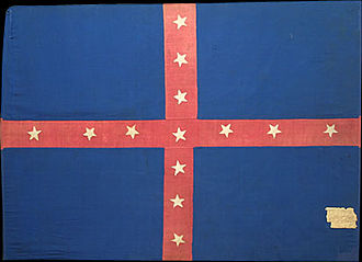 1st Arkansas Cavalry Regiment (Dobbin's) - Dobbin's Arkansas Cavalry Regiment Battleflag