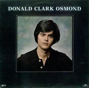 Donald Clark Osmond (album) - Image: Donaldclarkosmondalb umalbum