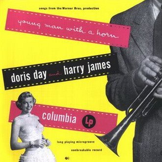 Young Man with a Horn (soundtrack) - Image: Doris Day Young Man