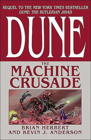 Dune: The Machine Crusade - First edition cover