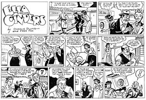 Charles Plumb (cartoonist) - Charles Plumb's Ella Cinders (June 13, 1948)