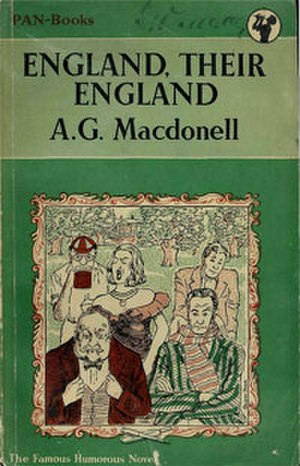 England, Their England - Image: England, Their England cover