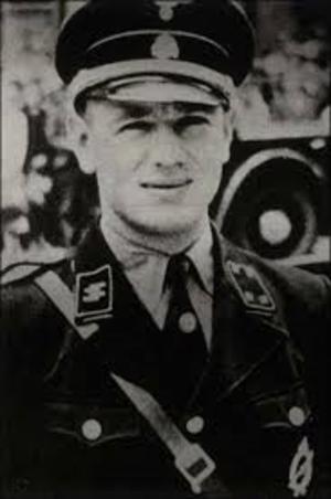 Erich Kempka - Image: Erich Kempka in his SS uniform