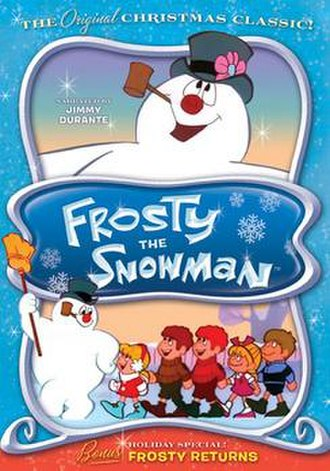 Frosty the Snowman (film) - DVD cover