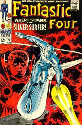 Silver Surfer - Image: Fantasticfour 72