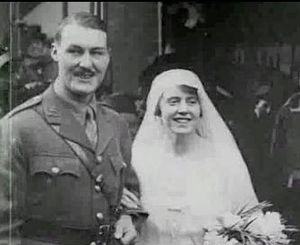 Felicity Tree - Felicity Tree at her wedding to Sir Geoffrey Cory-Wright in 1915