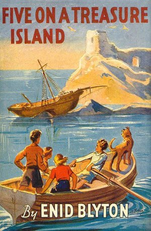 Five on a Treasure Island - First edition