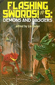 <i>Flashing Swords! 5: Demons and Daggers</i> book by Lin Carter
