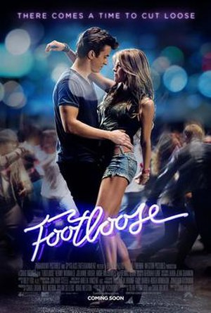 Footloose (2011 film) - Theatrical release poster