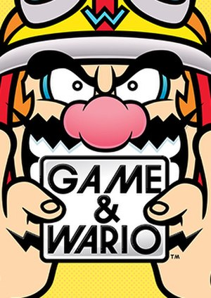 Game & Wario - Image: Game & Wario box art