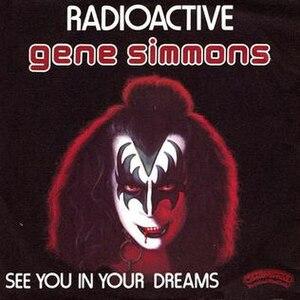 Radioactive (Gene Simmons song) - Image: Gene Simmons Radioactive