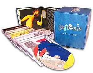 Genesis 1976–1982 - Image: Genesis 76 82boxset