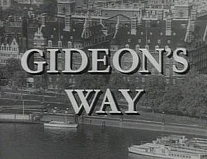 Gideon's Way - Image: Gideon's Way Titles screenshot