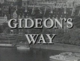 <i>Gideons Way</i> British television series