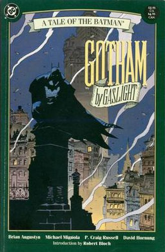 Gotham by Gaslight - Gotham by Gaslight (February 1989). Art by Mike Mignola.