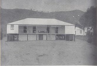 Port Moresby - Government House in Port Moresby—still used today though substantially enlarged and altered—, at the beginning of 20th century.