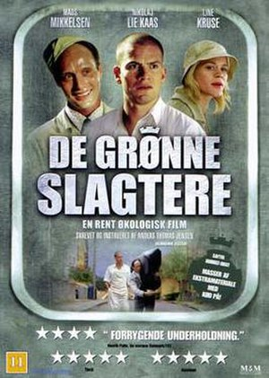 The Green Butchers - Danish DVD artwork