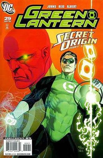 Green Lantern: Secret Origin - Image: Green Lantern 29