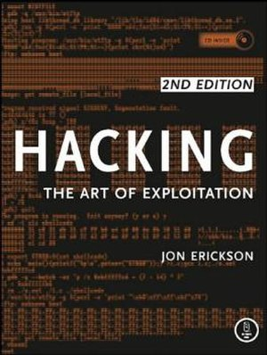 Hacking: The Art of Exploitation - Image: Hacking Book Cover second edition