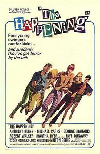 The Happening (1967 film) - Theatrical release poster