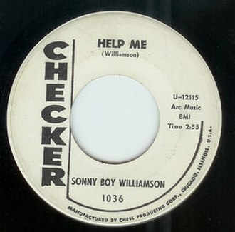 Help Me (Sonny Boy Williamson II song) - Image: Help Me single cover