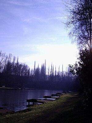Hemiksem - Image: Hemiksem fishing pond
