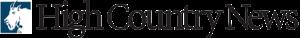 High Country News - Image: High Country News logo