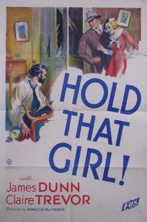 Hold That Girl - Theatrical release poster