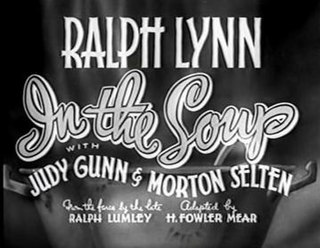 <i>In the Soup</i> (1936 film) 1936 film by Henry Edwards