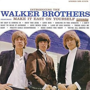 Take It Easy with the Walker Brothers - Image: Introducing The Walker Brothers LP
