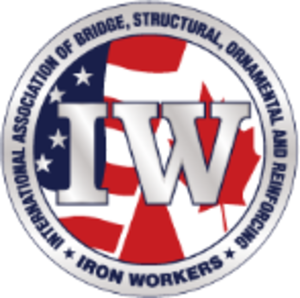 International Association of Bridge, Structural, Ornamental and Reinforcing Iron Workers - Image: Ironworkers logo