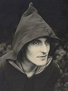Hargrave em traje Kibbo Kift, c.1927