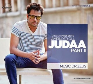 <i>Judaa 2</i> 2014 studio album by Amrinder Gill