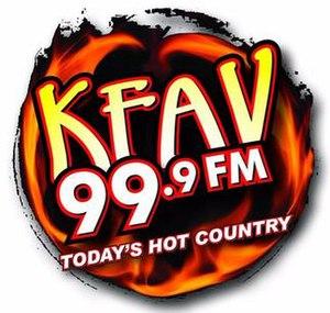 KFAV - Image: KFAV 99.9FM logo