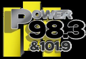 KKFR - Image: KKFR Power 98.3 101.9 logo
