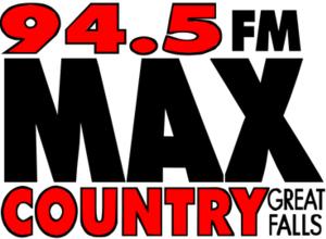 KMON-FM - Image: KMON 94.5FMMAXCountry logo