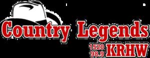 KRHW - Image: KRHW 1520 98.9KRHW logo